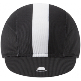 Chapeau!, Lightweight Cap Central Stripe, Black