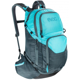 EXPLORER PRO 30L PERFORMANCE BACKPACK 2019: HEATHER SLATE/HEATHER NEON BLUE 30 LITRE