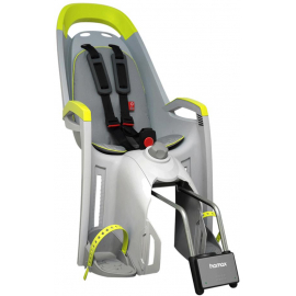 HAMAX AMAZE REAR MOUNTED CHILDSEAT: LIGHT GREY/LIME