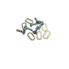LOOK SPARE - KEO CLEAT SCREWS & WASHERS EXTRA LONG 20MM (6 PCS):