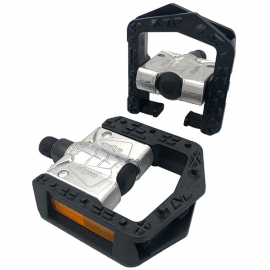 Folding Pedal  alloy body  plastic cage 9/16 inch thread