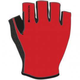 Track men's mitts, flame red X-large