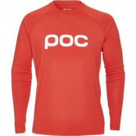 Poc Essential Enduro Jersey - Male - Prismane Red - L