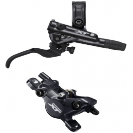 BR-M8100/BL-M8100 XT bled brake lever/post mount calliper, front right