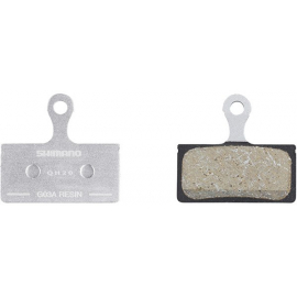 G03A disc brake pads and spring, alloy backed, resin