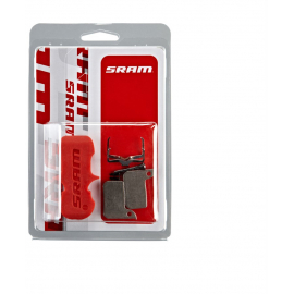 SRAM BRAKE PADS ORGANIC/STEEL (INCLUDES GUIDE PIN, CLIP & PAD SPREADER) - SRAM HYDRAULIC ROAD SRAM - AVID , ULTIMATE/TLM: