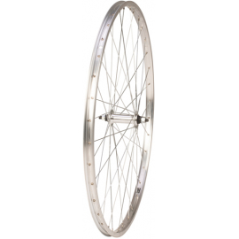 700C Front Wheel  Alloy Hub  Single Wall Rim  36H  Silver