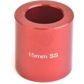 Spacer for use with 15 mm axles for the WMFG over axle kit
